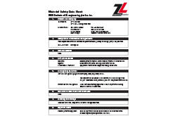 PEEK MSDS Data Sheet (ZL® 1500 Series)