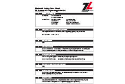 Ultem® MSDS Data Sheet (ZL® 1000 Series)