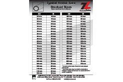 ZL® Stocked Acetal Tube