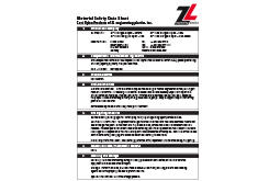 Cast Nylon Type 6 MSDS Data Sheet (ZL® 1100 Series)